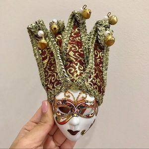 Jester Harlequin Italian Masquerade Wall Keepsake